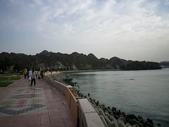 Corniche promenade, Mattrah