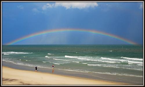 ocean beach nc rainbow sand surf waves northcarolina topsail topsailbeach oceanrainbow nikkor1685vr topsailislandvacation2014 topsailisland2014