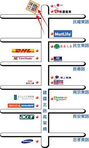 台北市建國北路3段42號map