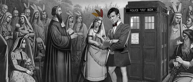 Doctor-Who-Pocahontas-wedding