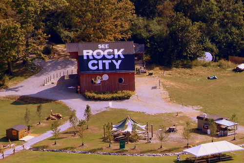 "The ""See Rock City"" barn you can see from Rock City"