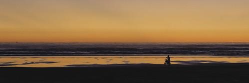 sunset panorama beach clear wellington waitarere canon6d digitalninjadesign motorbikesunset