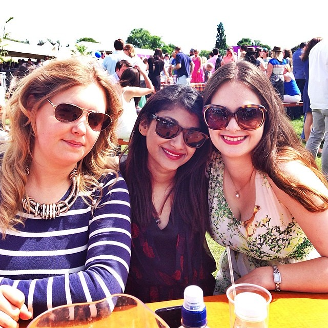 Me, Kathy & Sherin, Polo In The Park