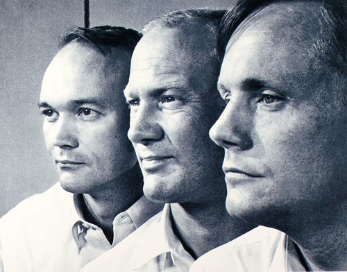 First 3 Men to go to moon
