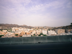 Approaching old Muscat
