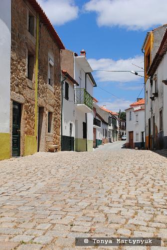 33 - провинция Португалии - маленькие города, посёлки, деревушки округа Каштелу Бранку