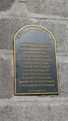 Photo of Sugar House, Aberdeen black plaque