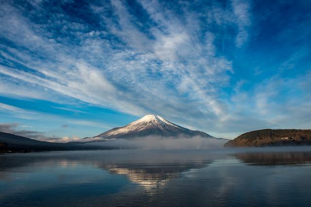2016 Lake Yamanaka winter Fuji