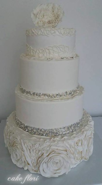 Wedding Cake by Flori Vina of Cake Flori