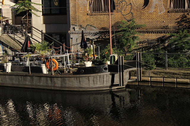 Boot an der Spree