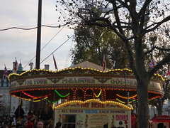 Southbank Centre's Winter Festival - Carousel / merry-go-round