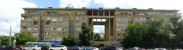 Велозаводская улица. Панорама с улицы