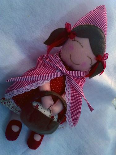 Chapeuzinho vermelho. by Paninh♥s em forma de am♥r