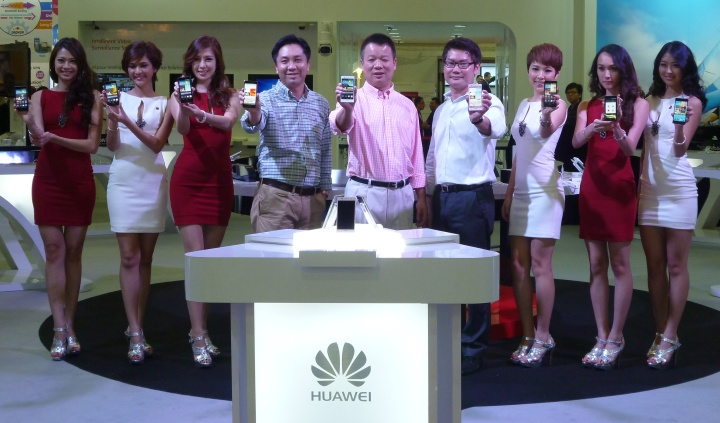 Huawei launched Ascend P6 in Asia