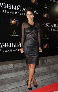 Halle Berry Sheer Dress Celebrity Style Women's Fashion