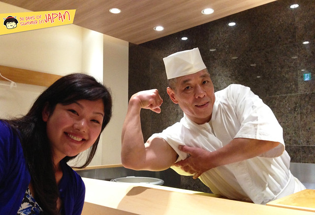 Sushi Chef YASUDA and ChubbyChineseGirl