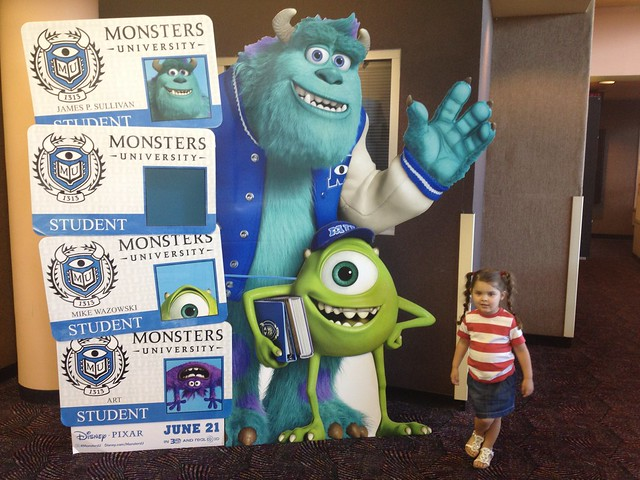 Annie Goes To Monster's University!