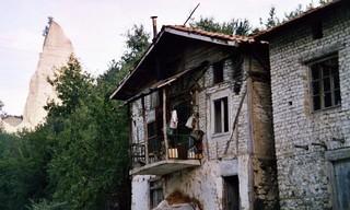 Bulgarie  cheminées de fées, Melnik, Pirin