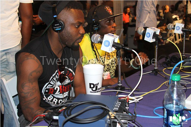 Jay Foley caught up with R2Bees and Ice Prince at BET Awards 2013 (3)