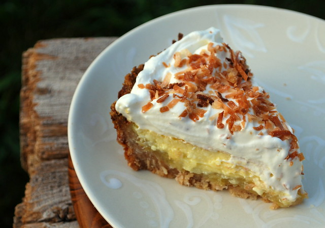 Pina Colada Ice Box Pie 1