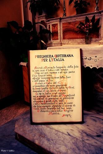 Preghiera per l'Italia - Alberobello
