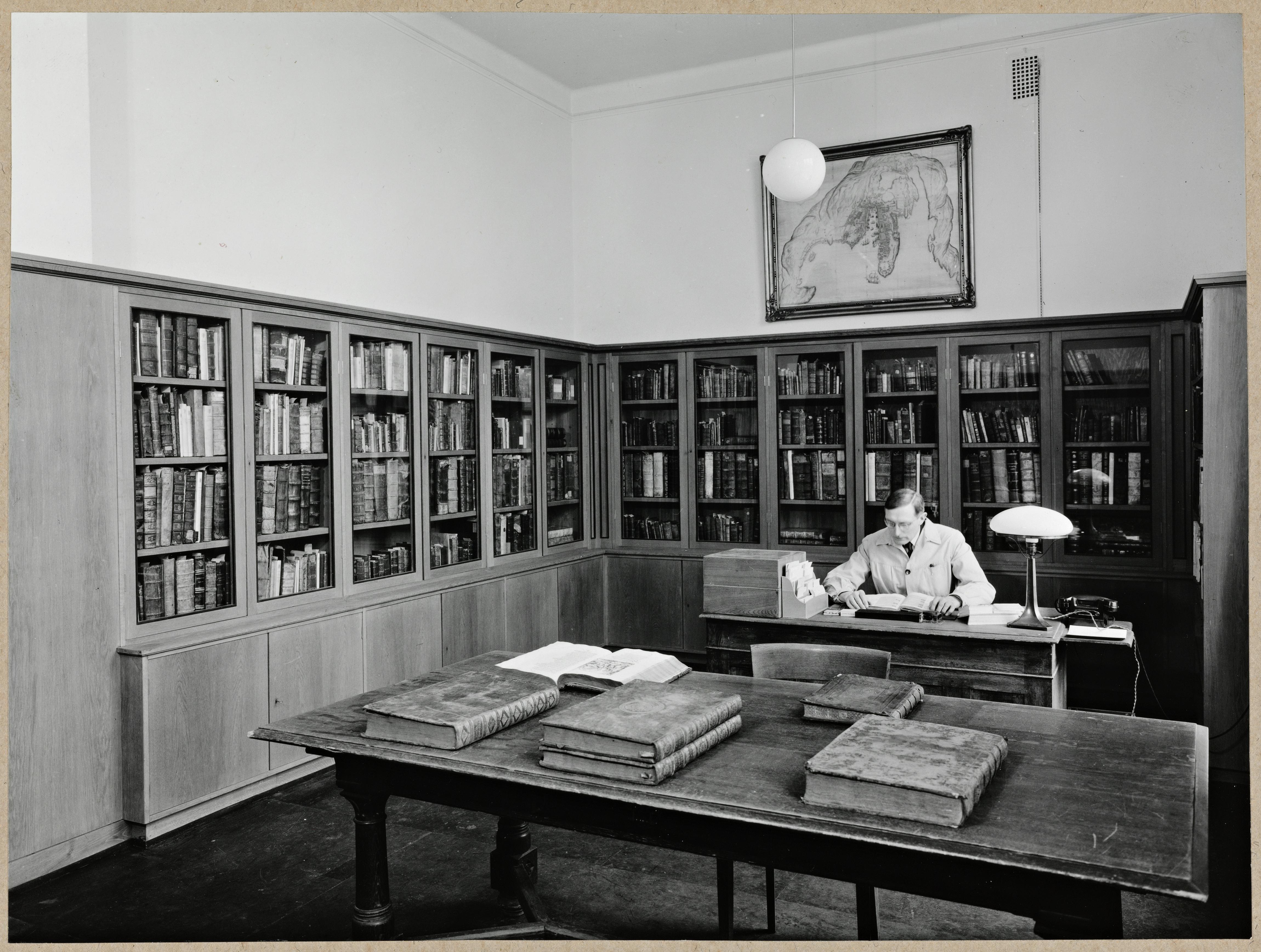 Paleotyprommet, Universitetsbiblioteket