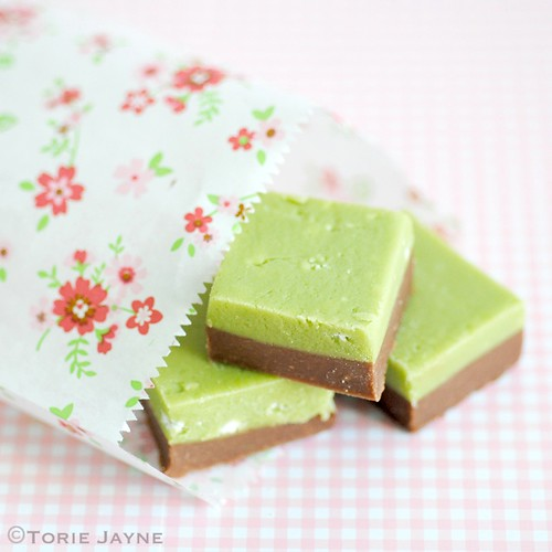 Lime meringue & chocolate fudge