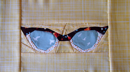 Sew-ichigo Paper Pieced Glasses