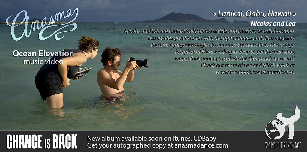 Anasma Music Video Ocean elevation teaser photo 3 Nicolas and Lea