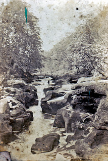The Strid on the River Wharfe circa 1890