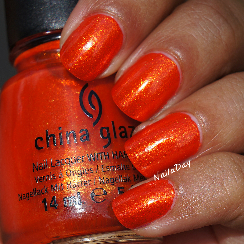 NailaDay: China Glaze Riveting