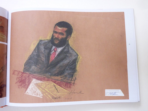 Sketching Guantanamo: Court Sketches of the Military Tribunals, 2006-2013 by Janet Hamlin - page
