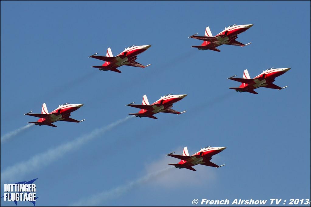 Patrouille Suisse ,Dittinger Flugtage 2013