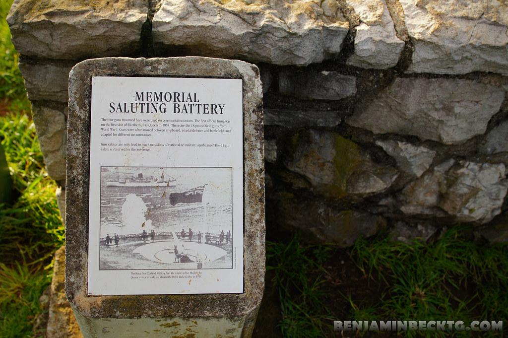 Memorial Saluting Battery