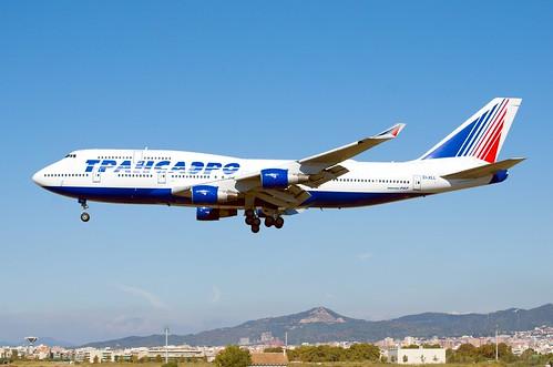 EI-XLL - Boeing 747-412 - LEBL at RWY 25R