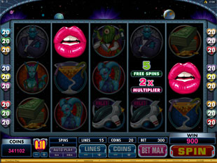Sneak A Peek Planet Exotica Free Spins