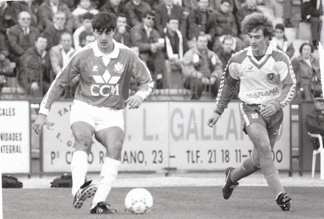 Juan Carlos Paniagua en el partido CD Toledo-Villarreal CF de la temporada 1993/1994 © Fotografía de Carlos Monroy