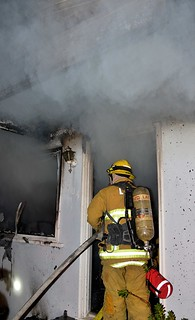Smoke Alarm Allows Woman to Escape Deadly North Hollywood Blaze. © Photo by Rick McClure. Click to view more...