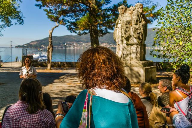 Guia en la Isla de San Simón