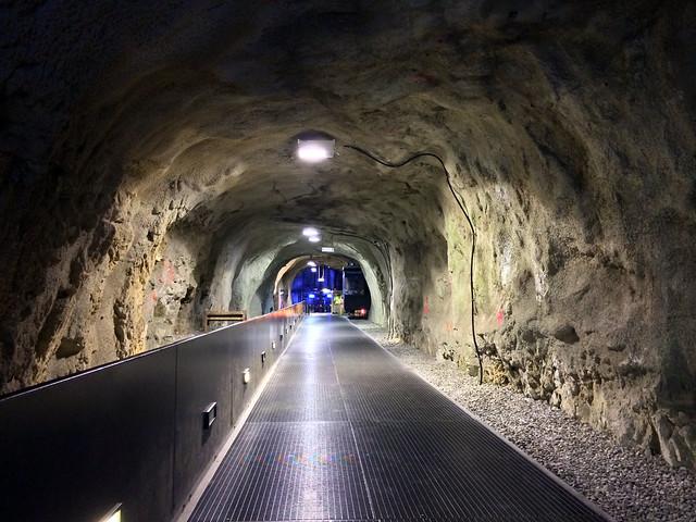Tunnel im Schloßberg zum Lift