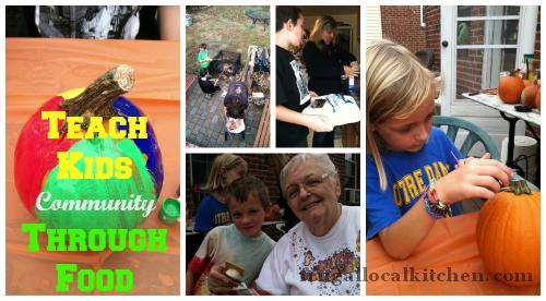 Teach Kids Community Through Food