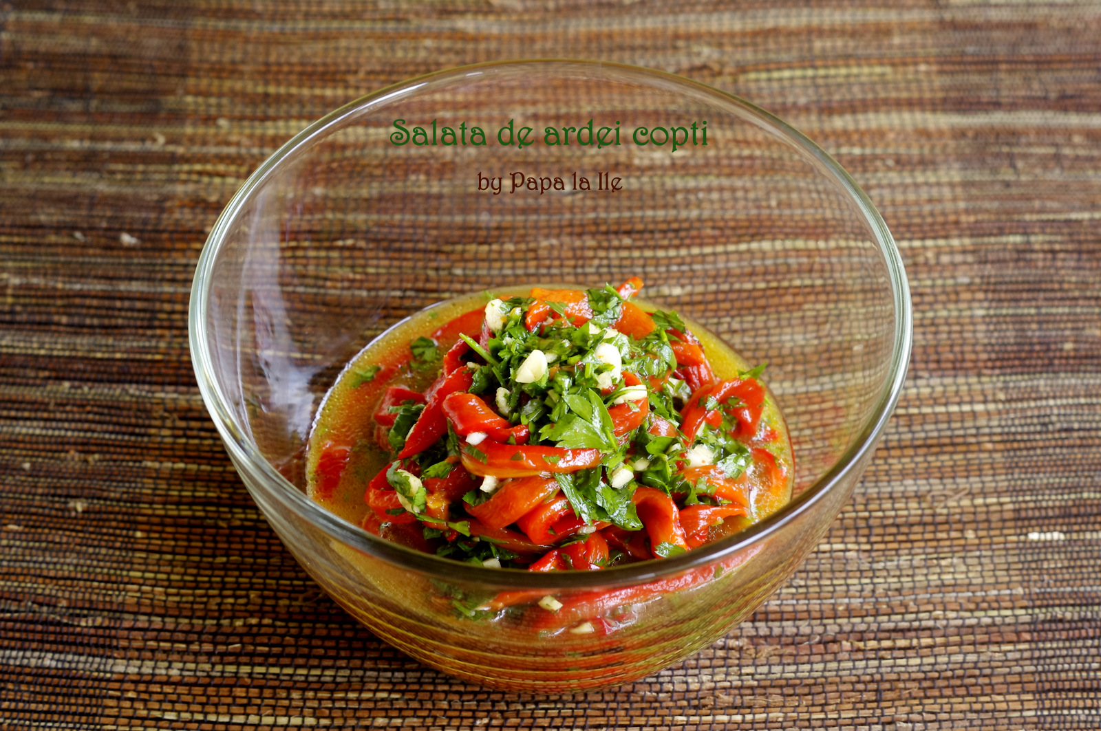 Salata de vinete, salata de ardei copti (4)