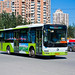 [BFD Buses in Beijing]京华 Jinghua BK6118 Bafangda #068497 Line 966 Front-right at Beiyuanjiayuan