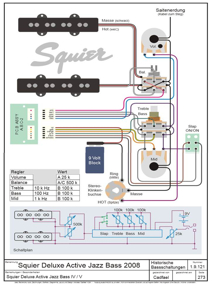DOC] ➤ Diagram Fender Deluxe Active Jazz B Wiring Diagram ... Jazz B Wiring Diagram Images on