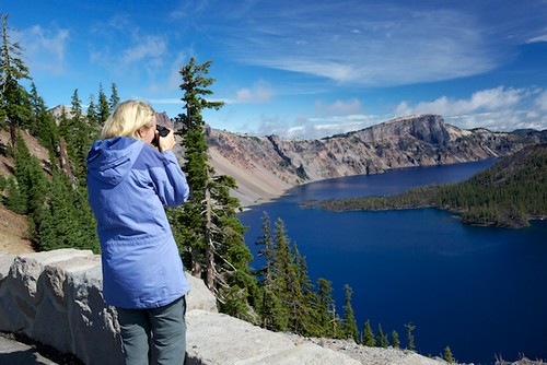 Photography at Crater Lake