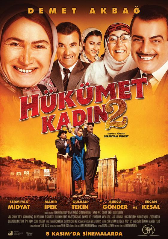 Hükümet Kadın 2 film afişi