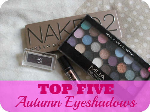 Top Five Autumn Eyeshadows