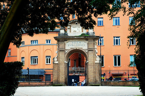 Villa Borghese Gate | by EvelynHill