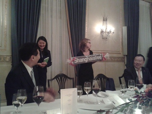 Delegationsbesuch aus Shanghai