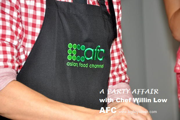 A PARTY AFFAIR with Chef Willin Low AFC 3